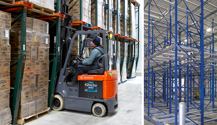 What should you know before storing, relocating, and managing materials?