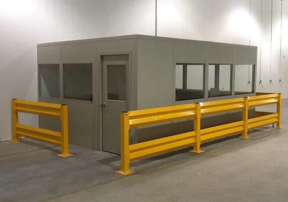 modular storage building