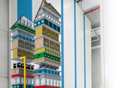 BSC Material Storage Capabilities