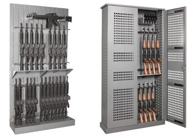 Military and Law Enforcement Weapons Storage Options