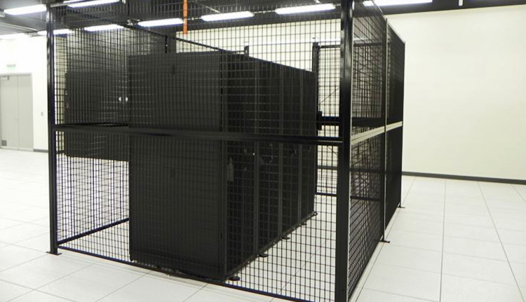 wire cage for law enforcement