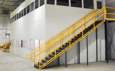 Interior Modular Warehouse Office in the Southeast