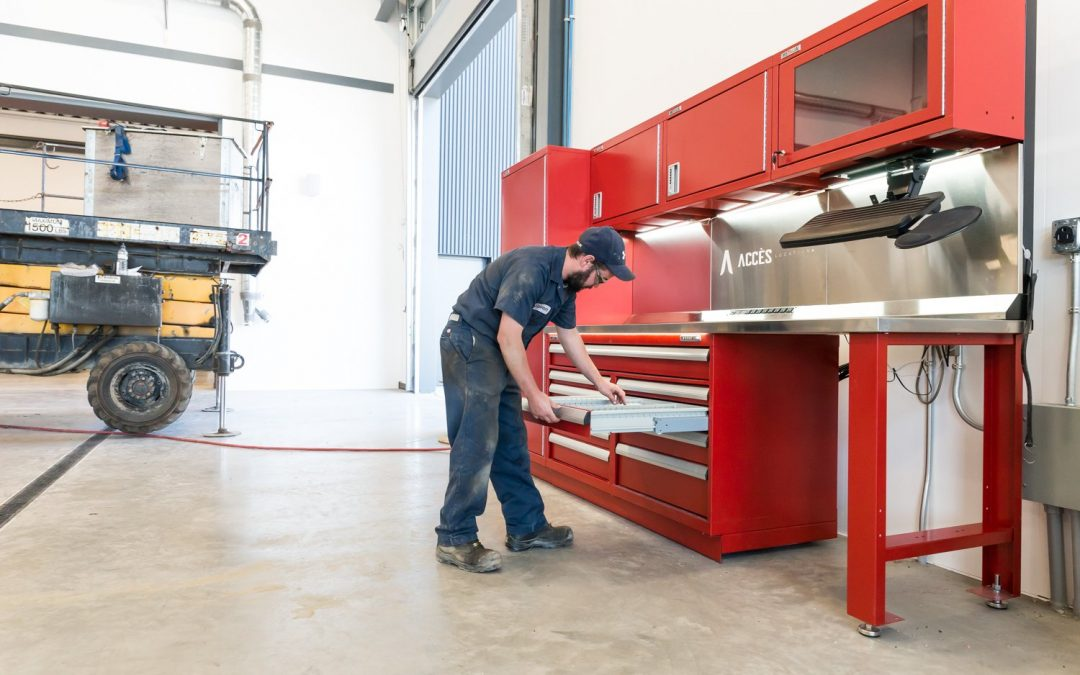 Revamp Your Workshop with Heavy-Duty Industrial Workbenches