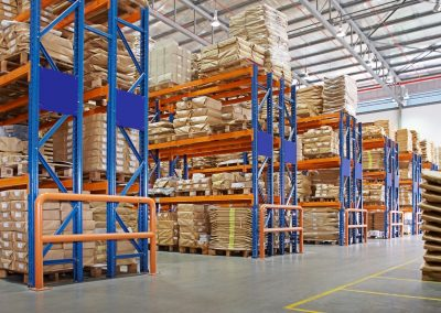 Security & Safety: Partitions, Pallet Racks & Storage Lockers