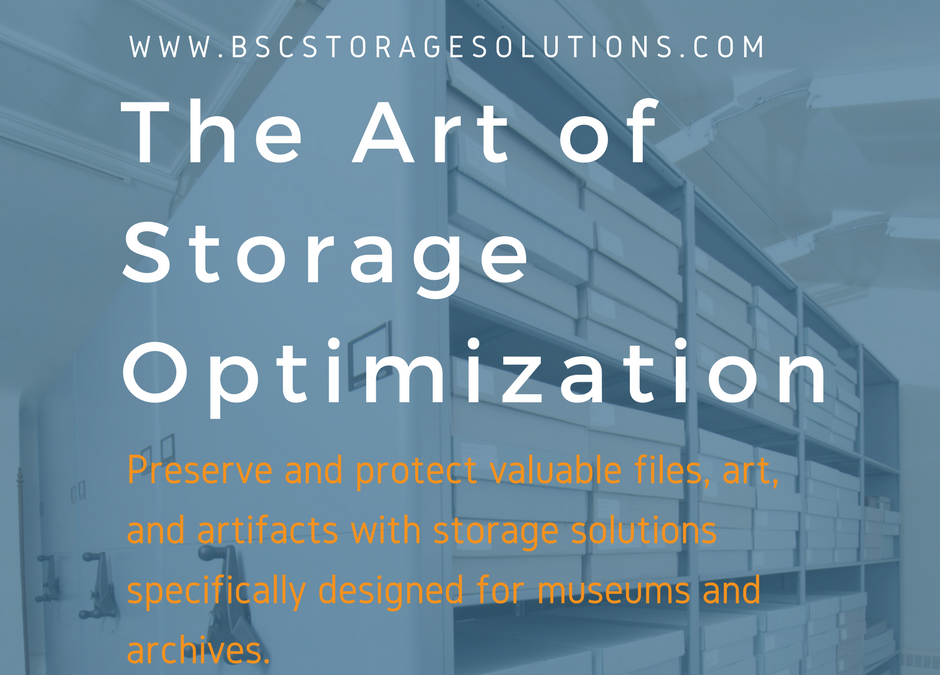 Museum and Library Storage Made Easy with BSC