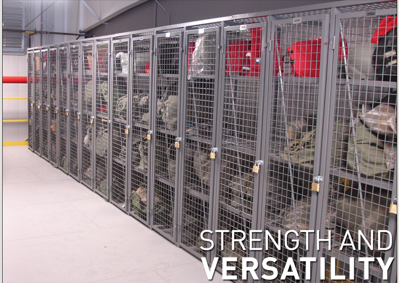 Wire Mesh Storage Lockers Built for Lasting Protection