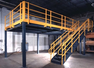 Utilize Wasted Space in Your Facility with Structural Mezzanines