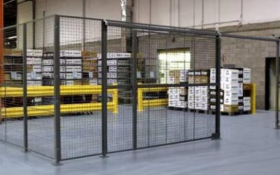How Wire Mesh Partitions Offer Ease of Use & Security for Division 10 Specialties