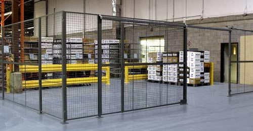 Wire Mesh Partition - Division 10 Specialties