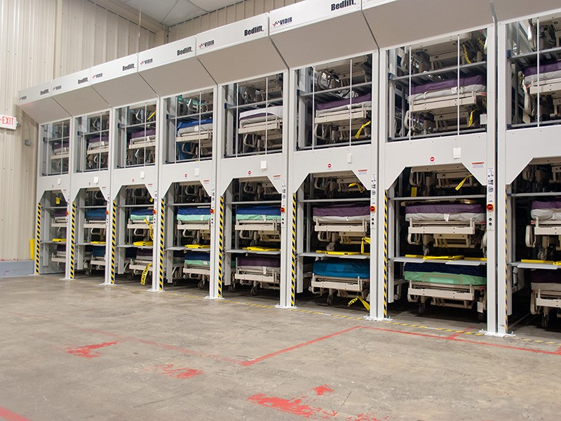 Hospital Bed Lifts Vertical Storage Southeast | BSC