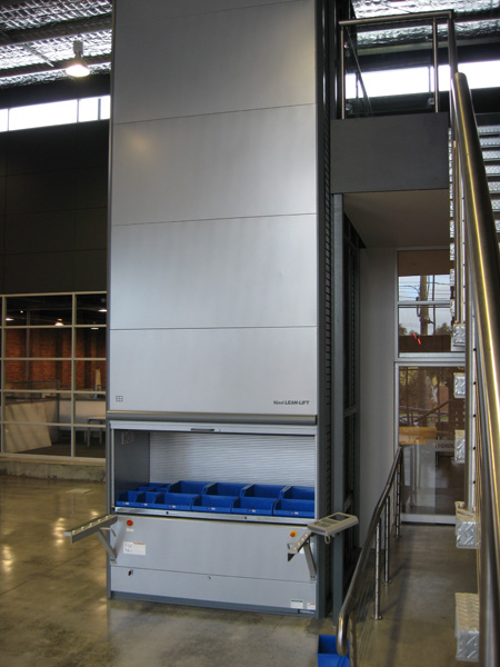 Military Vertical Storage Hanel Solutions Retrieval Systems Automated  Storage