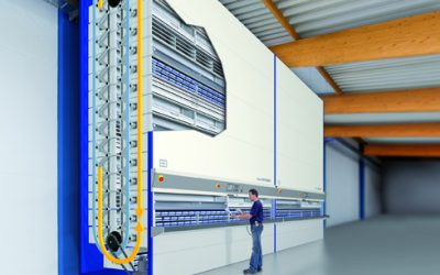Hanel Rotomat Lean Lift Automated Storage Retrieval Systems Birmingham