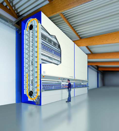 Hanel Rotomat Lean Lift Automated Storage Retrieval Systems Birmingham