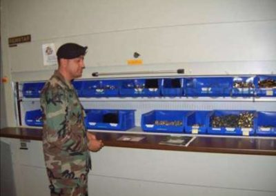 BSC Storage Solutions: Vertical Storage Systems for Military Applications