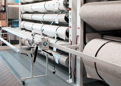 Carpet Storage Solutions Vertical Carousel AL TN FL MS AR | BSC