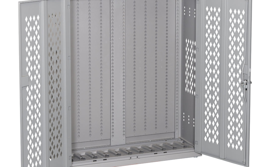 How To Increase Safety & Productivity Using Locker & Cabinet Storage