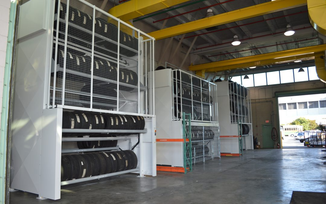 Tire Carousel Automotive Vertical Lift Storage Solutions Southeast | BSC