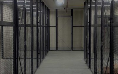Wire Partitions and Secure Storage Cages For Efficient Storage Solutions