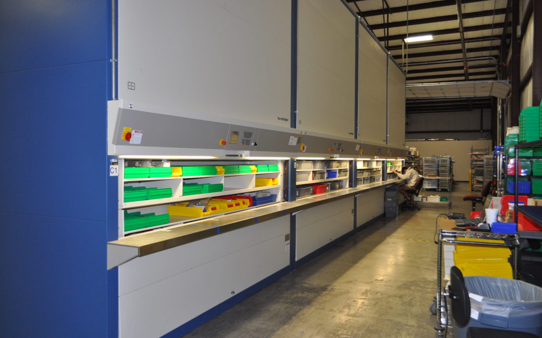 Boosting Productivity & Reducing Costs With Automated Vertical Storage Birmingham Montgomery Alabama