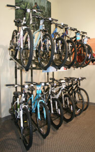 Apartment Bicycle Storage