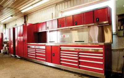 Public Safety Storage Solutions With Inspection Bays & Workstations