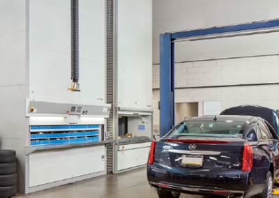 Solutions For The Storage of Tools and Spare Parts in Auto Dealerships