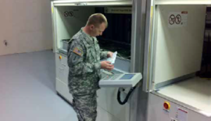 vertical storage systems for military applications